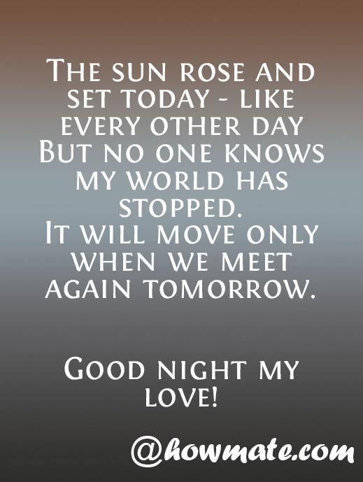 flirty good night quotes for him Sweet and romantic good night messages for him send your boyfriend, husband or soulmate a goodnight message to let him know that you are dreaming of him.