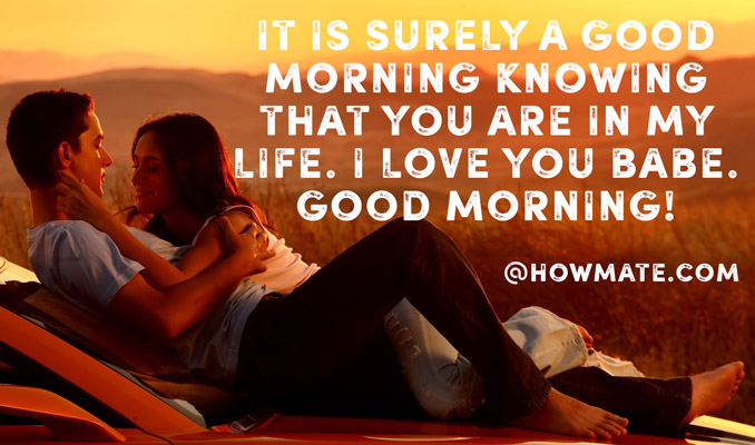 Good Morning Love Romantic Message : Good morning images with quotes kiss love coffee him