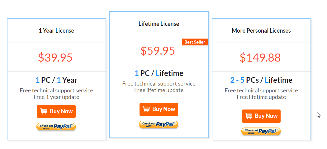 iSkysoft-iMusic-Pricing