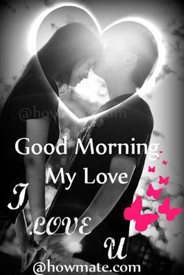 Good Morning Love And Kiss Wallpaper : Romantic Good Morning Kiss Images For Him Wallpaper sportstle