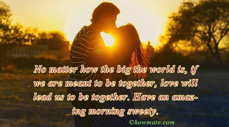 Good Morning Images For Him: Romantic Good Morning Images For Lover With Quotes (Sexy