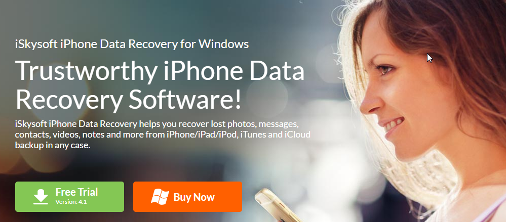 iskysoft iphone data recovery software