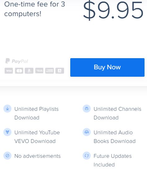 4K Youtube to MP3 Price